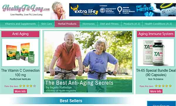 healthyfitlong site